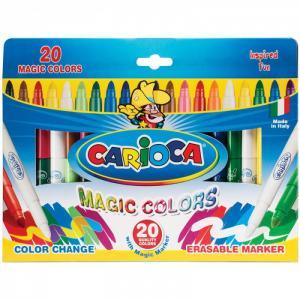 Фломастеры  CambiaColor меняющие цвет 20 шт. Carioca
