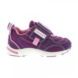 Кроссовки  для девочки Tsukihoshi. Цвет: фиолетовый