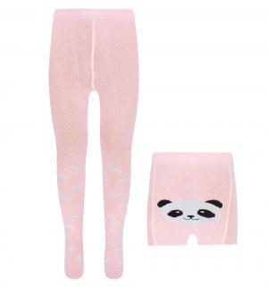 Колготки , цвет: розовый Rusocks