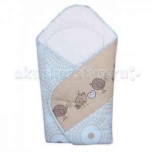 Одеяло-конверт Birdies (принт) Ceba Baby