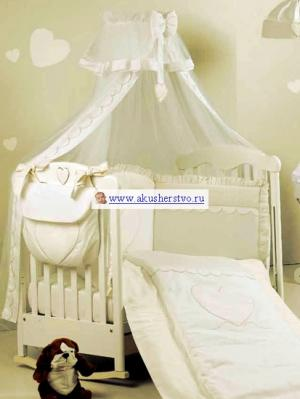 Комплект в кроватку  Cuore di Mamma (5 предметов) Roman Baby