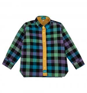 Рубашка , цвет: фиолетовый/синий The hip!
