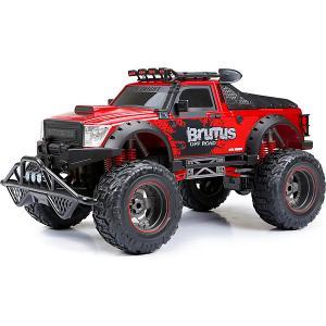 Радиоуправляемая машинка  Brutus Truck 1:8, красная New Bright. Цвет: красный