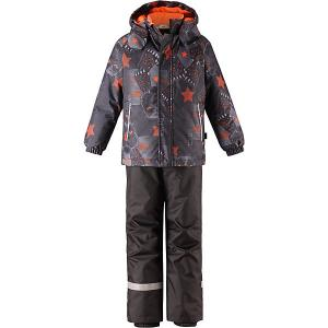 Комплект  : куртка и брюки Lassie. Цвет: оранжевый