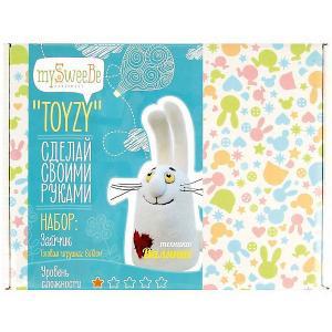 Набор для валяния Toyzy Зайчик. Цвет: разноцветный