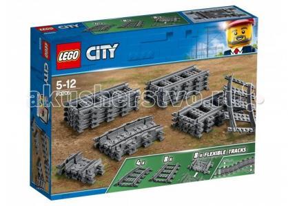 Конструктор  City Рельсы Lego