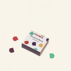 Набор блоков направления 16 шт. Primo Toys