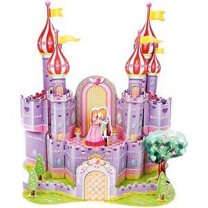 3D пазл  Фиолетовый замок, 35 элементов Funny