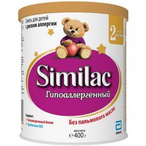 Молочная смесь  Гипоаллергенный 2 6-12 месяцев, 400 г Similac