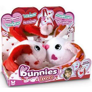 Кролики Bunnies  Подарочная серия , 2шт. в упаковке IMC Toys. Цвет: красный/белый
