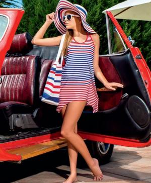 Платье пляжное Arina
