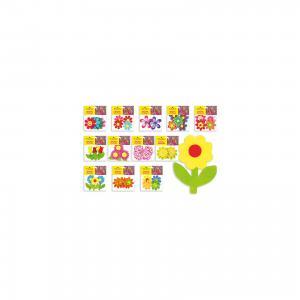 Фетровые аппликации Цветы 12*10 см (12 дизайнов) Schreiber