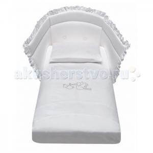 Комплект в кроватку  Crystal со стразами (4 предмета) Baby Italia