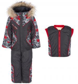 Комплект куртка/жилет/полукомбинезон  Спорт Alex Junis