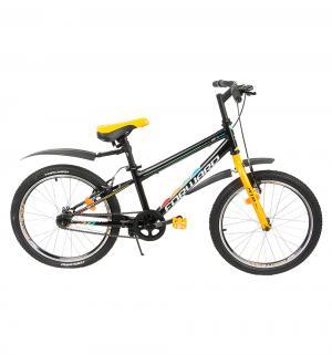 Детский велосипед  MTB FS 20, цвет: оранжевый/черный Altair