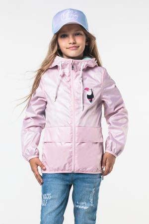 Ветровка , цвет: розовый Boom By Orby