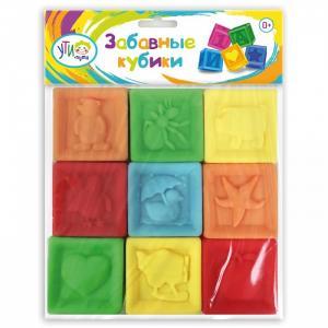 Развивающая игрушка  Кубики цветные (9 элементов) Ути Пути