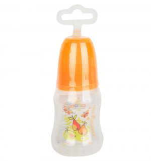 Бутылочка  с силиконовой соской полипропилен рождения, 125 мл Мир Детства