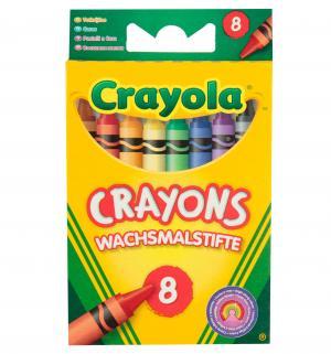 Набор смываемых восковых мелков  8 цв. Crayola
