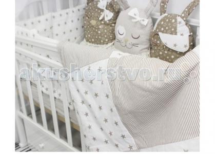 Комплект в кроватку  Спящие игрушки Друзья (12 предметов) ByTwinz