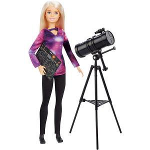 Кукла Barbie Кем быть? National Geographic Астрофизик Mattel