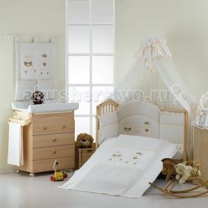 Комплект в кроватку  Real Bears (5 предметов) Roman Baby