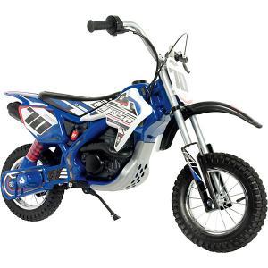 Мотобайк Injusa Xtreme, 24V, синий. Цвет: синий