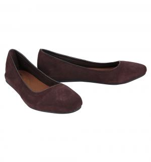Туфли  Lina Suede Flat Espresso, цвет: коричневый Crocs