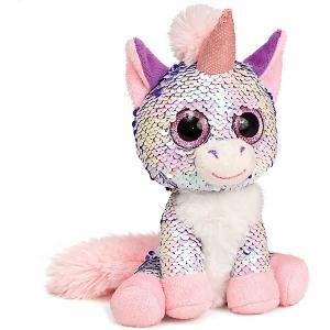 Мягкая игрушка  Единорог Жемчужина, розовый Fancy. Цвет: розовый/белый