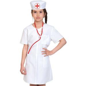 Карнавальный костюм  Медсестра Карнавалофф. Цвет: разноцветный