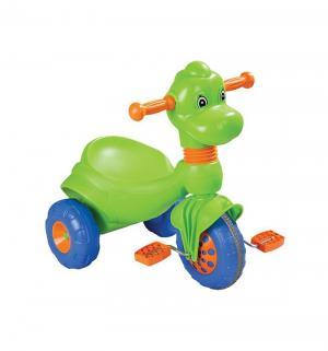 Трехколесный велосипед  Dino, цвет: зеленый Pilsan