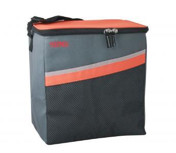 Сумка-термос  для хранения питания Classic 24 Can Coole питания, цвет: серый/оранжевый Thermos