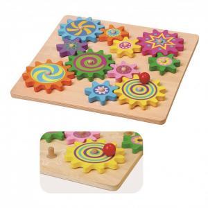 Деревянная игрушка  Пазл-шестеренки Viga