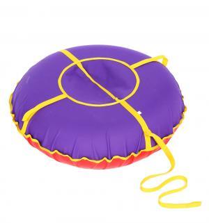 Санки надувные  Сноу Oxford 60 см, цвет: фиолетовый Иглу