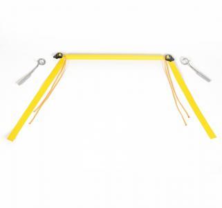 Турничок  в кроватку, цвет: желтый Спортбэби