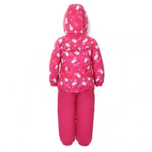 Комплект курта/полукомбинезон , цвет: розовый Kuutti