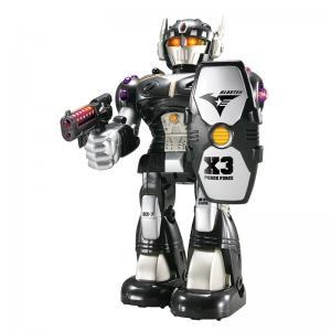 Робот-воин  Черный 26 см Happy Kid