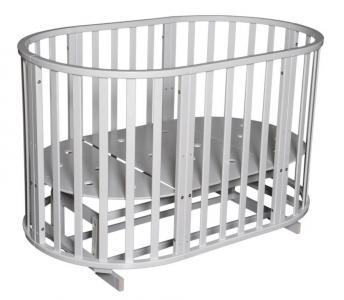Кровать  Северянка-3, цвет: белый Антел