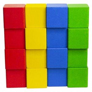 Деревянная игрушка  Кубики мозаика с карточками Краснокамская