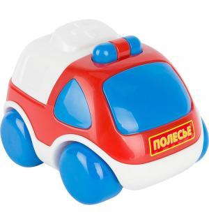 Автомобиль  Скорая помощьКарат красно-синяя 12 см Полесье