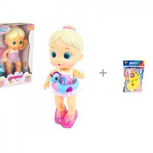 Bloopies Кукла плавающая Mimi и Yako МиниМания игрушки-брызгалки в ванну Н85569 IMC toys