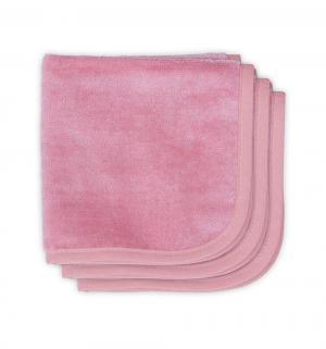 Комплект  Sweet bunny полотенце 3 шт 30 х см, цвет: розовый Jollein