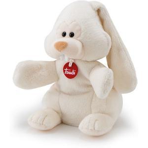 Мягкая игрушка на руку  Заяц Вирджилио, 25 см Trudi. Цвет: бежевый