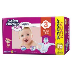 Подгузники  Baby (4-9 кг) шт. Helen Harper