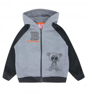 Толстовка  Baby Boy, цвет: серый Kiki Kids