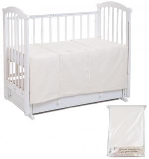 Комплект постельного белья  Королевские сны, цвет: золотой 3 предмета Leader Kids
