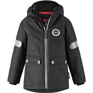 Утеплённая куртка  Seiland Reima. Цвет: черный