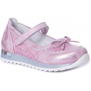 Туфли  для девочки Minimen. Цвет: розовый