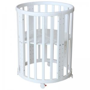 Кроватка  Simple 911, цвет: белый Polini
