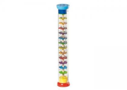 Музыкальный инструмент  Рейнстик перкуссия Дождь из шариков Goki